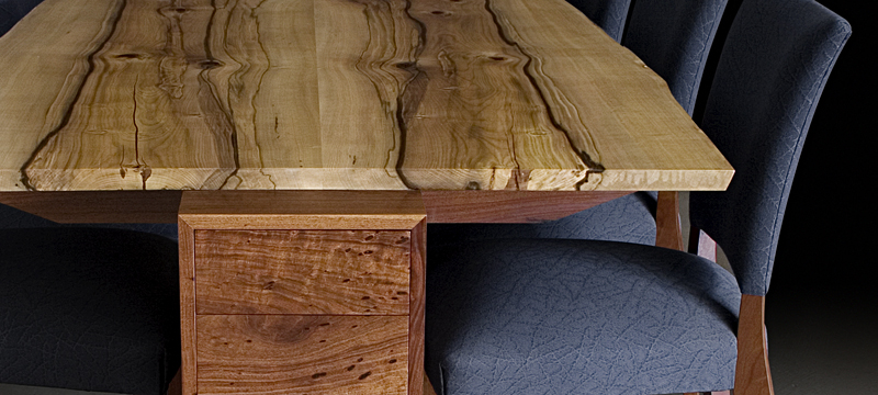 Timber Furniture Dining Table Heartwood